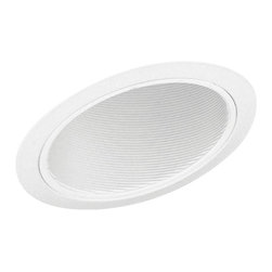 """Juno Lighting - Juno 614 6"""" Standard Slope Downlight Baffle Trim, 614w-Wh - 6"""" Standard Slope Downlight Baffle Trim for use with select Juno housings."""