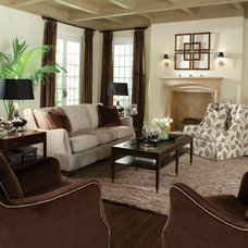 Transitional Sofas by Huntington House Furniture