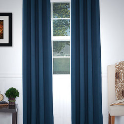 Lavish Home - Platinum Blackout Grommet Panel - Put the perfect finishing touch on any well-dressed room with this striking grommet curtain panel. Constructed from thick fabric ,it blocks out early morning light for a deep sleep. �� Includes one panel 100% polyester Machine wash; tumble dry Imported