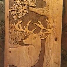 Craftsman Interior Doors by Northlin Wood Carving Studio