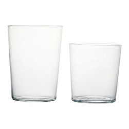 Duncan - Tumblers (Set of 6) - Available in two sizes, these sets of six tumblers have an uncomplicated, modern aesthetic that can suit any table setting. Strong and lightweight, they're durable enough for everyday use, yet refined enough for special occasions.