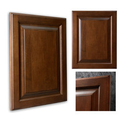 Covington Showplace Cabinets - This maple Showplace Covington door style features our Harvest stain and Casual Vintage finish. The warm stain and rich finish is a beautiful mix and a must-have in any room!