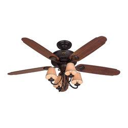"""Hunter Fan Company - Hunter Fan Company 22710 Cortland New Bronze 54"""" Ceiling Fan - Hunter Fan Company 22710 Cortland New Bronze 54"""" Ceiling Fan"""