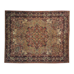 Hand Knotted Antique Persian Lavar Kerman 19 Century 11x14 Oriental Rug SH14827 - Oriental rugs are famously known to gain more value over time. An authentic Antique hand knotted rug is not only an instant centerpiece in any setting, but is a wonderful investment which only increases over the years. This collection features rare and valuable authentic hand-knotted area rugs from all over the world at exclusive discount prices.