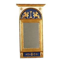 Used 1800s Swedish Empire Mirror Early 1800s Swedish