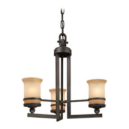 Troy Lighting - Transitional Three Light ChandelierRanier Collection - Being a Leader in an Industry requires many attributes.