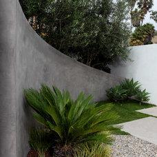 Modern Retainer Walls by Cassy Aoyagi, FormLA Landscaping