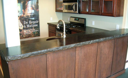 Concrete Bar Counter