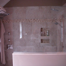 Traditional Bathroom Master Bath with walk-in shower
