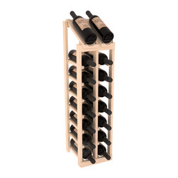 Wine Racks America - 2 Column 8 Row Display Top Kit in Pine, (Unstained) - Display your best vintage while efficiently storing 16 wine bottles. This slim design is a perfect fit for almost any space. Our wine cellar kits are constructed to industry-leading standards. Display top wine racks are perfect for commercial or residential environments.