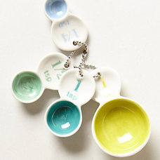 Eclectic Measuring Cups And Spoons by Anthropologie