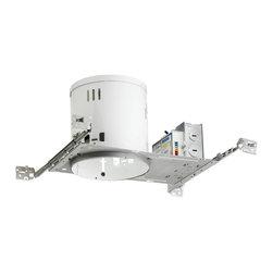 "Juno Lighting - PL613EU 6"" Non-IC New Construction Housing - 13W Vertical CFL - 6"" Non-IC New Construction Housing - 13W Vertical CFL"