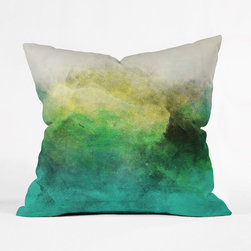 Lakeshore Sun Outdoor Throw Pillow - The Lakeshore Sun Outdoor Throw Pillow is not only safe to use outside, but it's also water and mildew proof! Stylish enough to use inside on couches, beds, and chairs, it's durable enough to use outside every day.