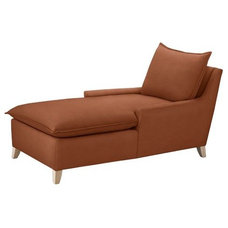 Contemporary Indoor Chaise Lounge Chairs by West Elm