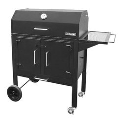 "Landmann - Black Dog 28"" Grill, Includes Slip Sheet - -Heavy Duty Steel construction"