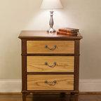 Walnut & Ash Bedside Tables -