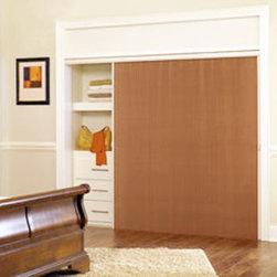 "Graber Slide-Vue 3/8"" Single Cell Light Filtering - Enhance a wide window or patio door with the captivating Graber Slide-Vue vertical Cellular Shades."