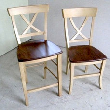 Farmhouse Dining Chairs by ECustomFinishes