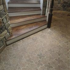 Traditional Floor Tiles by Classic Tile and Mosaic