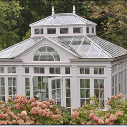 Freestanding Garden House Conservatory -