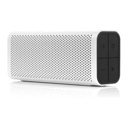 Braven - Braven 705, Design Series, White - Lightweight portability meets big sound with the powerful Braven 705 Speaker. Custom high-fidelity audio drivers deliver room-filling sound to your music, media, conference calls and more. For a powerful, immersive left and right stereo experience, pair any two Braven 7-Series speakers together using Braven's highly-acclaimed TrueWireless™ Technology. Precision engineered with a shock-absorbent thermoplastic exterior and sleek finish, the Braven 705 Speaker is offered in a wide variety of colors to match your personal style.