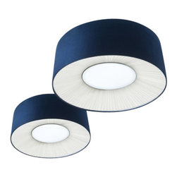 """Axo - Axo Velvet ceiling lamp - VEL070 (small) - The small Velvet ceiling lamp (UP VEL 070) was designed by Fly Design from Axo, and is part of the Lightecture series and made in Italy. The small Velvet ceiling lamp is for indoor installation and is available as a wall, suspended and a floor fixture.  It's lamp shade is trunk-conical shaped and is made from flame-retardant Micro 2000 fabric covering (polyester and cotton) with a suede effect and is available in a variety of color options.   Products description: The small Velvet ceiling lamp (UP VEL 070) was designed by Fly Design from Axo, and is part of the Lightecture series and made in Italy. The small Velvet ceiling lamp is for indoor installation and is available as a wall, suspended and a floor fixture.  It's lamp shade is trunk-conical shaped and is made from flame-retardant Micro 2000 fabric covering (polyester and cotton) with a suede effect and is available in a variety of color options.  *This is a custom product that ships in 12-14 weeks.  Please contact us for pricing to expedite shipping to 6-8 weeks. Details:                         Manufacturer:                         Axo                                         Designer:                         Fly Design                                         Made  in:            Italy                            Dimensions:                         Height: 10.3"""" (26cm) X Width: 27.5"""" (70cm)                                                     Light bulb:                                      2 X 20W E26 Flourescent or             1 X 55W 2GX13                                          Material                         Metal, fabric"""