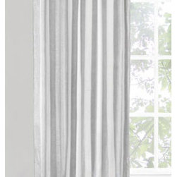 Vintage House by Park B. Smith - Silver 50 x 84-Inch Tab Window Panel - - Vintage house 91% cotton and 9% lurex 50 x 84-inch back tab window treatment. Dry clean only.   - Made in india  - items included in the set: one window panel Vintage House by Park B. Smith - OTTAZ0-SLV