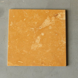 """Eta Gold Orange Limestone Tiles - We have 360 boxes available, each box contains 10 pieces of Eta Gold 12"""" x 12"""" x 3/8"""" polished. On sale for $52.50 per box. A orange limestone with pink and white shades great for floors. You can request a sample, the cost of shipping will be charged to you. Please contact us at dawn@smioftexas.com for other quantities."""