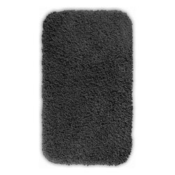"Garland Rug - Bath Mat: Accent Rug: Serendipity Dark Gray 30"" x 50"" Bathroom - Shop for Flooring at The Home Depot. This heavyweight shag bath rug will fit easily into any bathroom decor. Serendipity is made with 100% Nylon for superior softness and colorfastness. And is proudly made in the USA.."