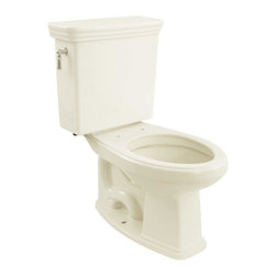TOTO - TOTO CST424EF#11 Eco Promenade Two Piece Elongated Toilet, Colonial White - TOTO CST424EF#11 Eco Promenade Two Piece Elongated Toilet, Colonial White When it comes to Toto, being just the newest and most advanced product has never been nor needed to be the primary focus. Toto's ideas start with the people, and discovering what they need and want to help them in their daily lives. The days of things being pretty just for pretty's sake are over. When it comes to Toto you will get it all. A beautiful design, with high quality parts, inside and out, that will last longer than you ever expected. Toto is the worldwide leader in plumbing, and although they are known for their Toilets and unique washlets, Toto carries everything from sinks and faucets, to bathroom accessories and urinals with flushometers. So whether it be a replacement toilet seat, a new bath tub or a whole new, higher efficiency money saving toilet, Toto has what you need, at a reasonable price. TOTO