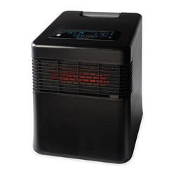 Kaz Inc - Honeywell Energy Smart Infrared Heat Black - KAZ My Energy Smart Infrared Heater -Black.