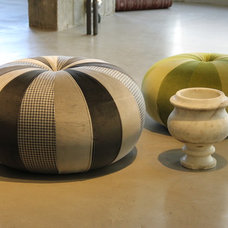 Contemporary Ottomans And Cubes by Apre design group