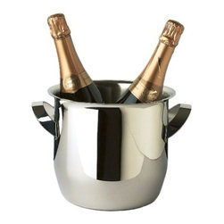Franmara - Triomphe 18-10 Stainless Steel Wine Cooler Bucket with Luster Finish - This gorgeous Triomphe 18-10 Stainless Steel Wine Cooler Bucket with Luster Finish has the finest details and highest quality you will find anywhere! Triomphe 18-10 Stainless Steel Wine Cooler Bucket with Luster Finish is truly remarkable.
