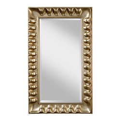 Feiss - Feiss MR1138SL Scalloped Mirrors in Silver Leaf - Silver Leaf Mirror