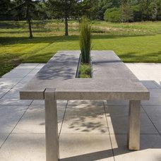 Outdoor Dining Tables by Maynard Studios