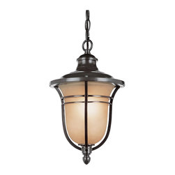 """Trans Globe Lighting - 5704 ROB Amber Rain 15"""" high Outdoor PendantThe Standard Collection - New for Autumn, an outdoor collection oil rubbed bronze wall brackets, hanging lanterns, post top lamps, and pole lamps. Many sizes and styles."""