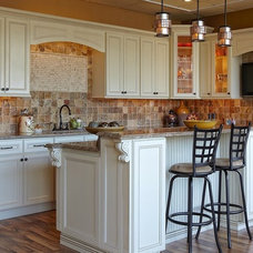 Traditional Kitchen Cabinets by The Solid Wood Cabinet Company