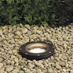 Kichler - Kichler No Family Association Outdoor Landscape Lighting Fixture in Bronze - Shown in picture: In-Ground 1-Lt 12V in Architectural Bronze
