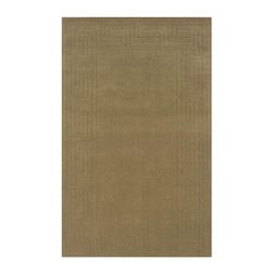 Linon Home Decor - Contemporary Indoor/Outdoor Area Rug: Linon Home Decor Rugs Classic Cedar Green - Shop for Flooring at The Home Depot. The combination of the perfect color palette and design is the key to the wonderful area rugs in the Classic collection. These pieces are at home in any setting as they are easy to decorate and very reasonable in price. Hand woven and hand carved. Color: Cedar Green.