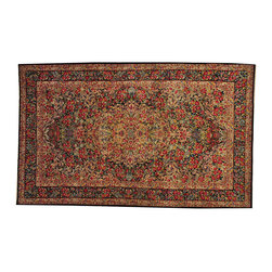 1800-Get-A-Rug - Antique Persian Lavar Kerman 19th Century Hand Knotted Rug Sh17504 - Oriental rugs are famously known to gain more value over time. An authentic Antique hand knotted rug is not only an instant centerpiece in any setting, but is a wonderful investment which only increases over the years. This collection features rare and valuable authentic hand-knotted area rugs from all over the world at exclusive discount prices.