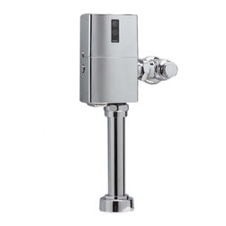 "Toto - Toto TET6LN Polished Chrome EcoPower Toilet Flushometer Valve 1.28 GPF 24"" V.B. - Toto TET6LNC#CP EcoPower 1.28 Gallon per flush exposed toilet flushometer valve retrofit body. The EcoPower flush valve is a Self-Generating system that does not require batteries or transformers for reduced maintenance calls. The Sensor activated flush valve is a piston operated for increased life in tough water situations. The Toto TET6LNC#CP does not require scheduled maintenance calls and reduces continued cost to operate. Polished chrome finish"