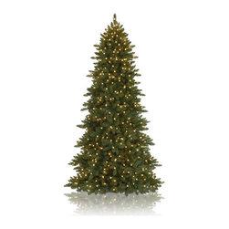 Balsam Hill Berkshire Mountain Fir™ Artificial Christmas Tree - THE COMPACT BEAUTY OF BALSAM HILL'S BERKSHIRE MOUNTAIN FIR™ |