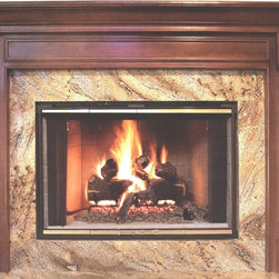 Fireplace Mantel - A time proven winner in our wide selection of wood mantels.