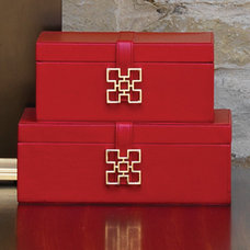 Traditional Storage Bins And Boxes by Modern Chic Home