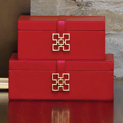 traditional storage boxes by Modern Chic Home