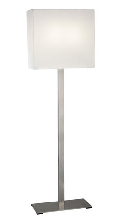 Sonneman - Sonneman 7023.13F F Mitra 2 Light 63 Height Fluorescent Floor Lamp - SONNEMAN - A Way Of Light - is closely connected to Robert Sonneman, the designer, and his commitment to the ideals and the promise of the brand.