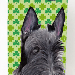 Caroline's Treasures - Scottish Terrier Shamrock Portrait Michelob Ultra Koozies for slim cans - Scottish Terrier St. Patrick's Day Shamrock Portrait Michelob Ultra Koozies for slim cans SC9306MUK Fits 12 oz. slim cans for Michelob Ultra, Starbucks Refreshers, Heineken Light, Bud Lite Lime 12 oz., Dry Soda, Coors, Resin, Vitaminwater Energy, and Perrier Cans. Great collapsible koozie. Great to keep track of your beverage and add a bit of flair to a gathering. These are in full color artwork and washable in the washing machine. Design will not come off.