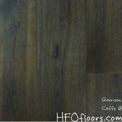 Garrison French Connection - French Connection Caffe wire-brushed white oak hardwood. Available at HFOfloors.com.