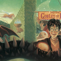 "Clampett Studio Collections - Harry Potter: ""Harry Potter & The Goblet Of Fire"" Giclee On Paper - Artist: Mary GrandPre"