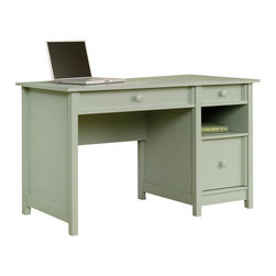 Sauder - Sauder Original Cottage Desk in Rainwater - Sauder - Home Office Desks - 414141